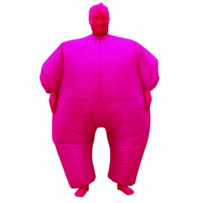 Rose Red Full Body Suit Inflatable Halloween Christmas Costume for Adult
