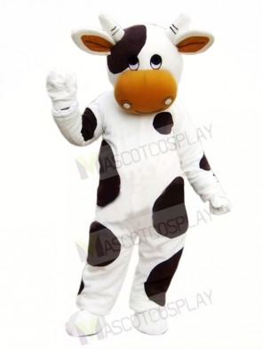Cute Black and White Cow Mascot Costumes Animal