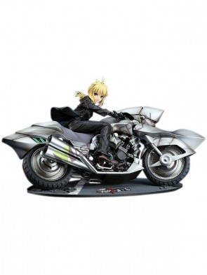 Fate Saber Cool Car PVC Anime Action Figure