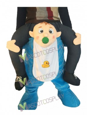 Piggyback Baby Carry Me Ride on Infant Mascot Costume