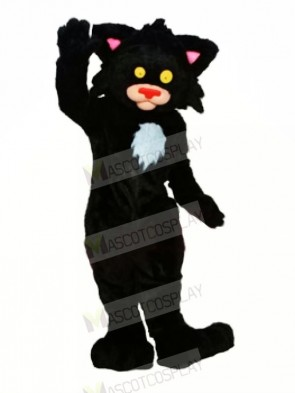 Black Kitty Cat Mascot Costumes Animal