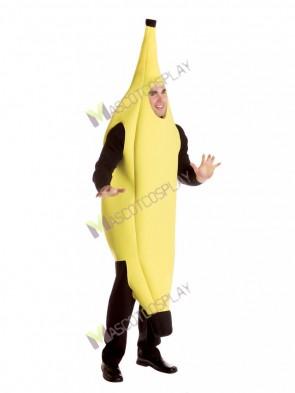 Fruit Yellow Banana Mascot Costume