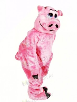 Beautiful Pink Pig Mascot Costumes Animal