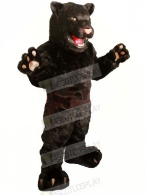 Strong Black Panther Mascot Costumes Animal