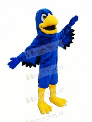 Blue Falcon with Black Wings Mascot Costumes Animal