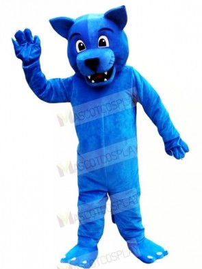 Funny Blue Leopard Mascot Costumes Animal