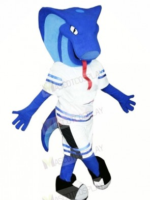 Blue Viper Mascot Costumes Animal