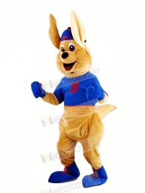 Boxing Kangaroo with Long Ears Mascot Costumes Animal