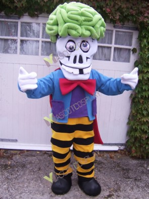 Brain Blaster Mascot Costume