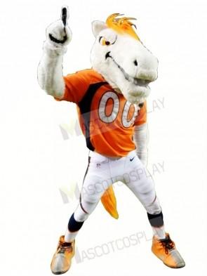 Mustang Horse Broncos Mascot Costume