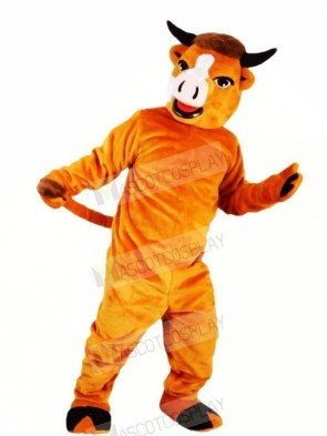 Strong Brwon Cattle Mascot Costumes Animal