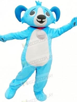 Cute Blue Buddy Dog Mascot Costumes Animal