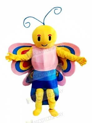 Beautiful Butterfly with Colorful Wings Mascot Costumes Animal
