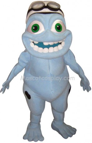 Crazy Frog Mascot Costume Fancy Dress Outfit