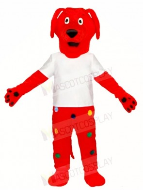 Red Dachshund Dog Mascot Costumes Animal