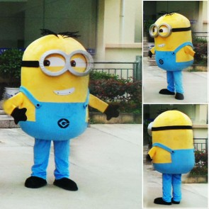 Despicable Me Minions Mascot Costume Custom Fancy Costume Anime Cosplay Theme Fancydress