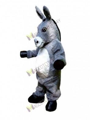 Gray Donkey Hospice Mascot Costume
