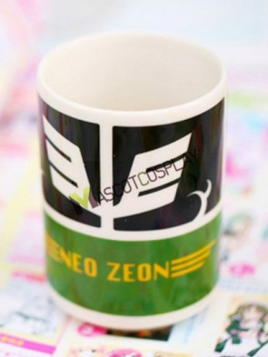 Gundam Anime Ceramic Cup Green