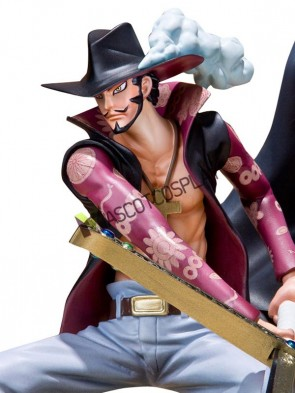 One Piece Dracule Mihawk Cool Anime Action Figure