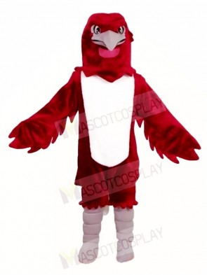 Burgundy Eagle Falcon Mascot Costumes Animal
