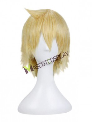 Yellow The Labyrinth of Magic Alibaba Saruja Cosplay Wig