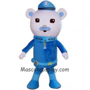 Captain Barnacles Polar Bear Mascot Costumes from Octonauts Film Octonauts Cosplay