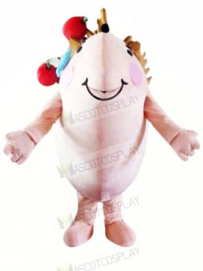 Pink Hedgehog Mascot Costumes Cheap