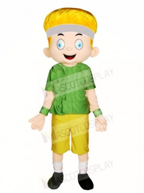Sports Boy Mascot Costumes People