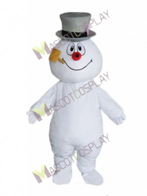 Frosty the Snowman Mascot Costume