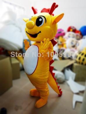 High Quality Dragon Mascot Costume Cute Mascot Costume Adult Party Carnival Halloween Christmas Mascot
