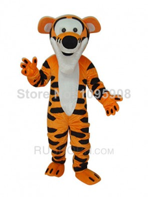 High Quality Tigger Winnie the Pooh Tiger Mascot Costume Adult Party Carnival Christmas Mascot