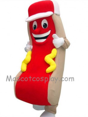 Hot Dog Mascot Costume Fancy Dress Outfit