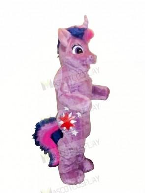 Purple Pony Horse Mascot Costumes Cartoon