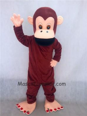 Brown Gorilla Mascot Adult Costume