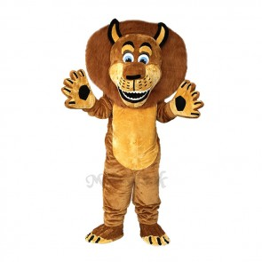 Alex The Lion Mascot Costume