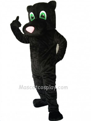 New Cartoon Black Panther Mascot Costume