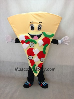 Food Promotion Combination Pizza Mascot Costume