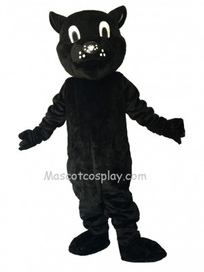 Cute Black Patrick Panther Mascot Costume