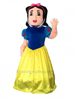 Snow White Snowwhite Cinderella Mascot Costume Adult Party Carnival Christmas