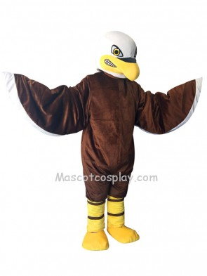 New Brown Fierce Eagle Costume Mascot