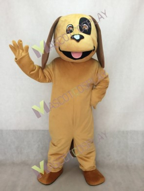 Cute Tan & Brown Dog Mascot Costume