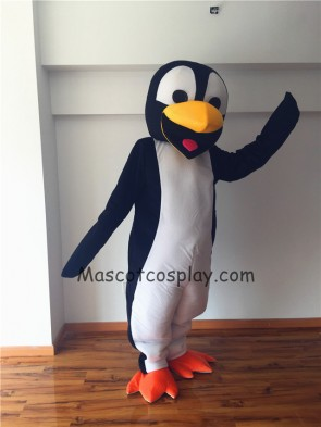Cute Deluxe Penguin Mascot Costume