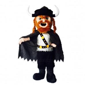 New Brown Beard Viking Mascot Costume