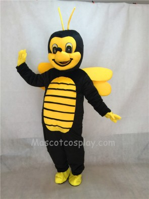 2nd Version of The Yellow an Blck Bee Mascot Adult Costume