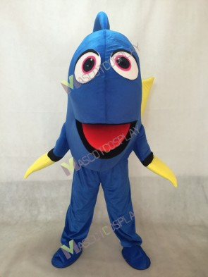 Finding Dory Nemo Blue Fish Mascot Costume Cartoon Character Halloween