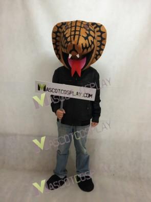 Cobra HEAD ONLY Mascot Costume