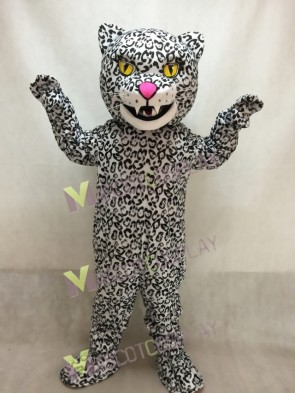 New Fierce Snow Leopard Mascot Costume