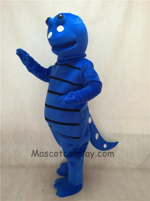 Blue Billy Salamander Mascot Costume