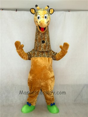 New Friendly Giraffe Mascot Costume