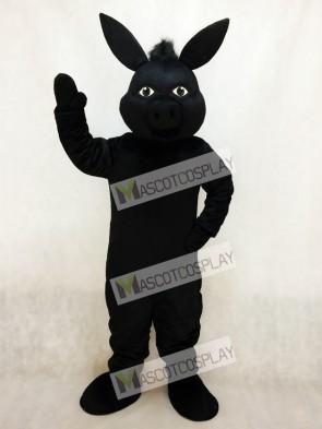 Black Donald Donkey Mascot Costume